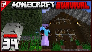Barn & Chicken Farm! | Minecraft 1.10 PC | Python Plays Minecraft Survival [S2 - #34]