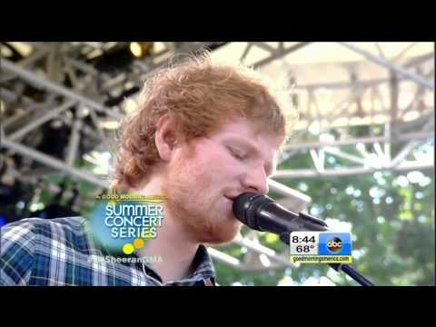 Ed Sheeran- Photograph GMA Summer Concert