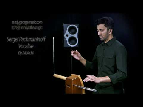 Sergei Rachmaninoff - Vocalise, Op.34 No.14 - Randy George, theremin