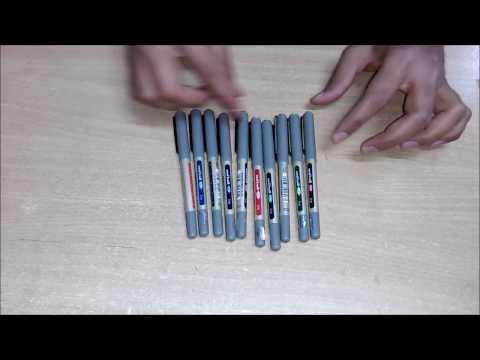 Uni Ball - Eye | UB-157 | 10 MultiColour Pen Set | Review