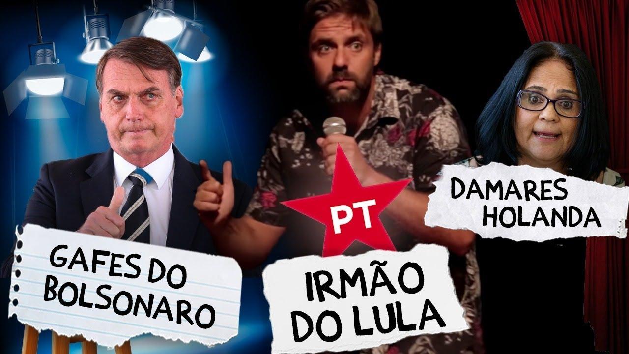 Fábio Rabin - Gafes do Bolsonaro / Irmão do Lula / Damares Holanda
