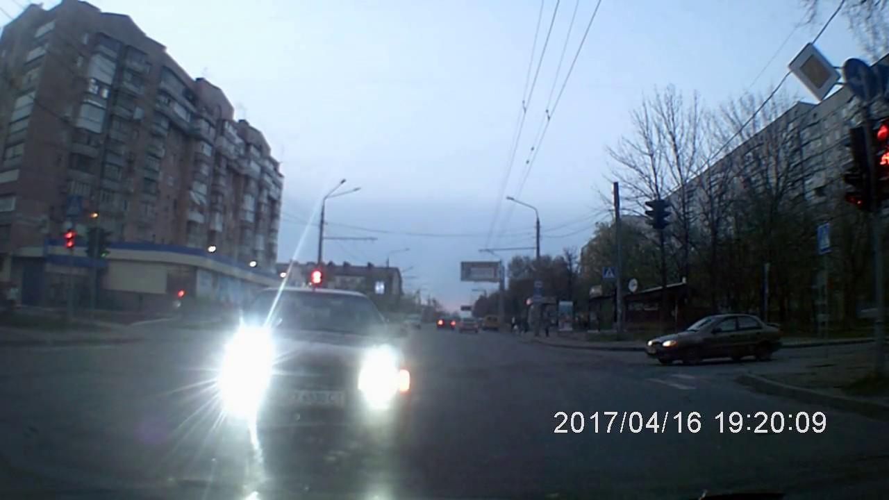 Харьков,Холодная Гора.ДТП.16.04.2017