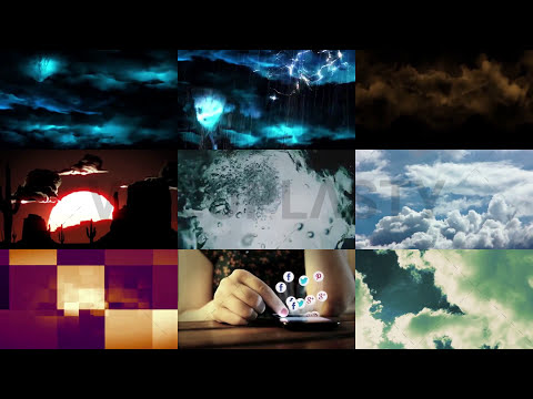 100 Free Background Video Loops HD [Royalty Free] - Pack #1