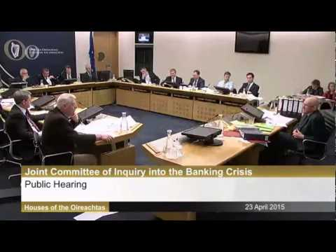 Banking Inquiry - Joe Higgins Questions Dermot Gleeson Former Chairman of AIB