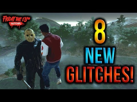 Friday The 13th: The Game - 8 NEW GLITCHES! (Flying, Out Of Map & Secret Room Glitches!)
