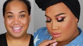 mannymua makeupgeek pallete smokey eye tutorial   patrickstarrr