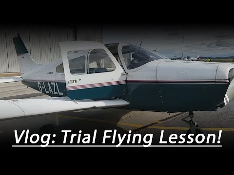 Vlog: Flying a REAL plane!