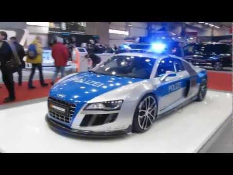 R8 Polizei Audi