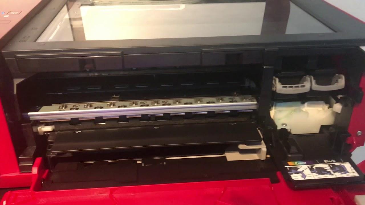medium resolution of canon pixma 3650 paper jam paper stuck in printer
