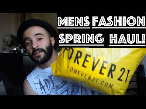 Men's FASHION HAUL | Forever 21, H&M, and Gap |