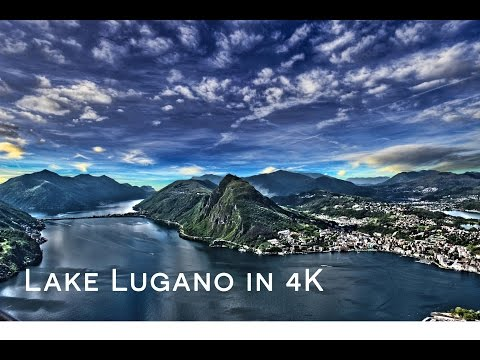 Lake Lugano in