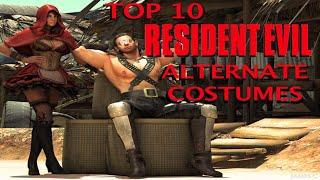 Top 10 RESIDENT EVIL Alternate Costumes