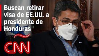 Senador presenta proyecto de ley para impedir ingreso de Juan Orlando Hernández a EE.UU.