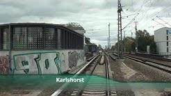 Führerstandsmitfahrt S-Bahn Berlin S3 Ostbahnhof - Erkner