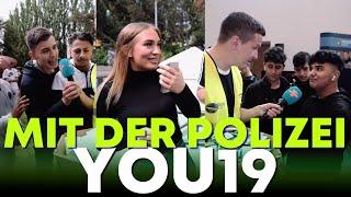 Die Kids haben keinen Anstand mehr! Mit der Polizei auf der YOU |  #BITTEDANKE