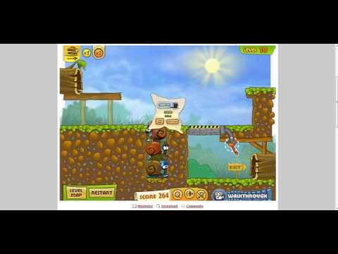 Y8 Game Snail Bob 2