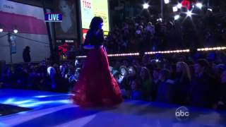 "Carly Rae Jepsen ""Call Me Maybe"" & ""This Kiss"" Live From Time Square - New Year"