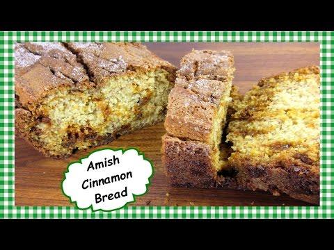 Easy Amish Cinnamon Bread ~ How to Make Cinnamon Bread