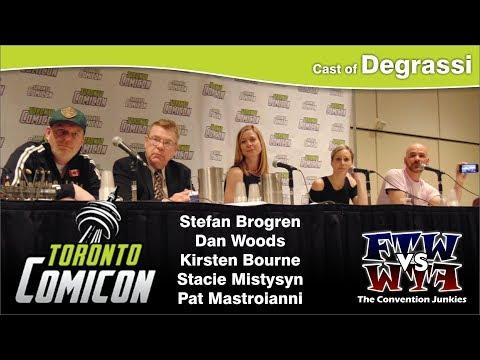 Degrassi Jr. High Reunion - Toronto ComiCon - Full Panel