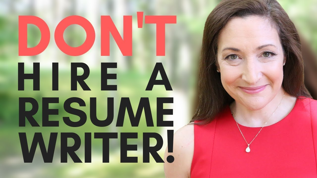 Don T Hire A Resume Writer Do This Instead Youtube