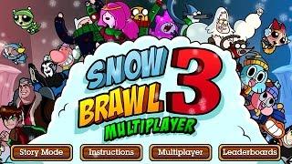 Gambar cover SNOWBRAWL 3 Multiplayer (Cartoon Network Games)