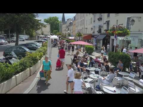 24 juin : ville de Sceaux expérimente la continuité de la rue piétonne