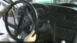 Saab 9.3 Not Accessible Airbag CIM Removal 2003-2005.mov