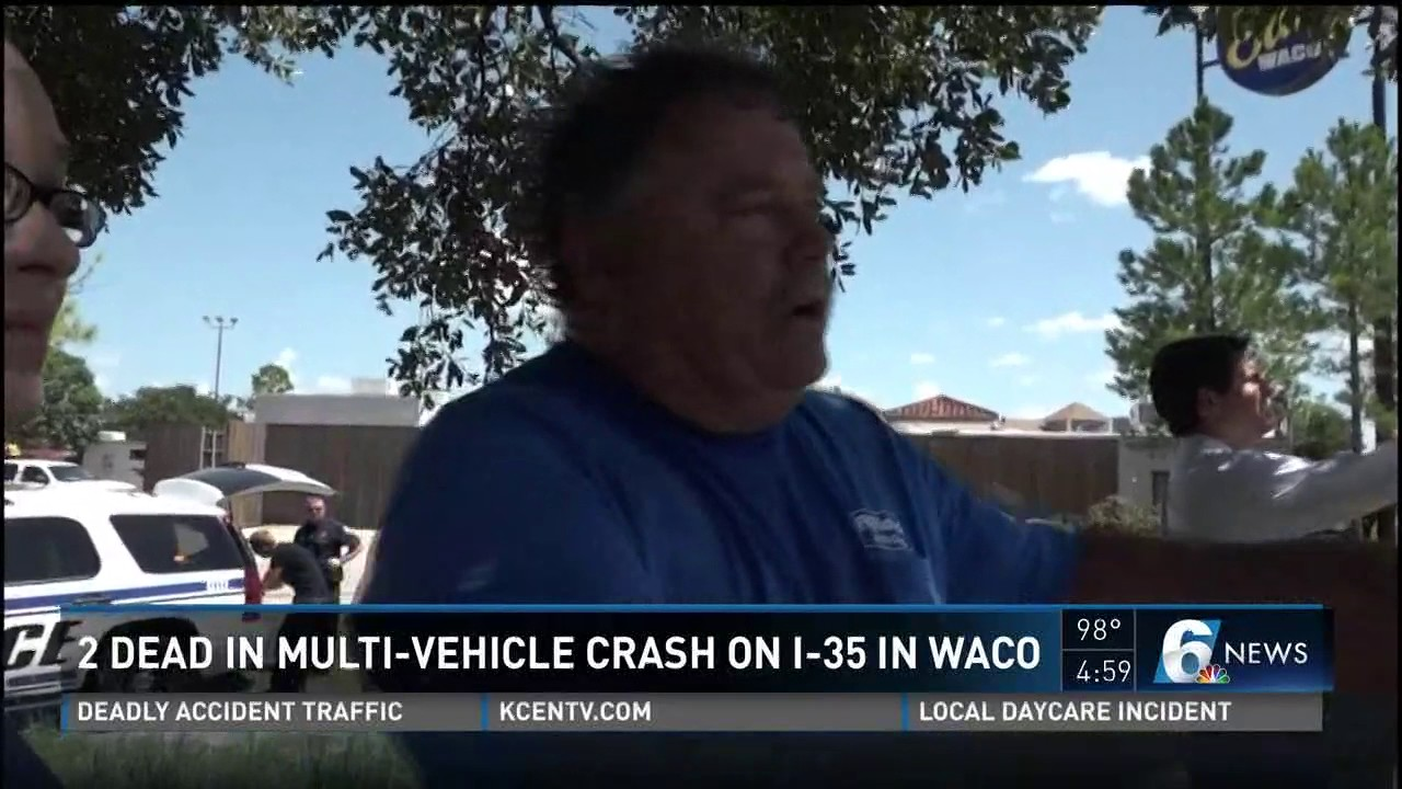 2 dead in multi-vehicle crash on I-35 in Waco