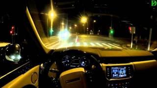 Range Rover L Supercharged FPV Driving in 4k / Безмолвная езда на  Рендж Ровер Сеперчарджд Л