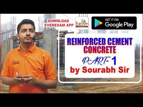 REINFORCED  CEMENT CONCRETE  PART-1 IN (HINDI)