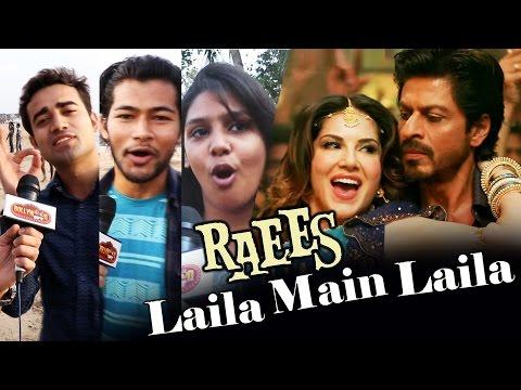 Laila Main Laila - FANS GO CRAZY Over Sunny Leone, Shahrukh Khan - RAEES