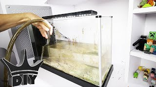 Complete aquarium makeover!! HER FIRST AQUARIUM UPDATE