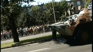 Russian Military parade in Berlin  25 Jun 1994