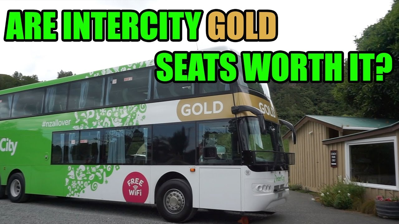 New Zealand Intercity Gold Bus Pass Review - YouTube