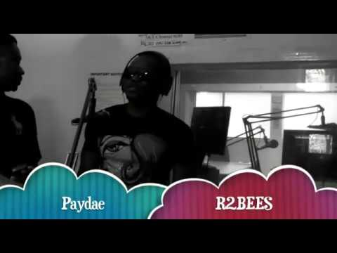 """Paedae (R2bees) Freestyle """"Live from London"""" with Teddy Abrokwa"""