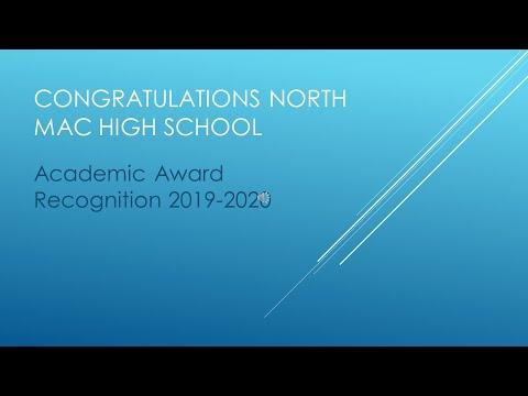 North Mac High School awards