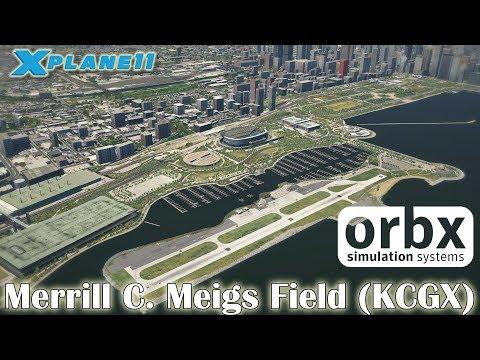 Orbx - Merrill C. Meigs Field (KCGX) for X-plane 11