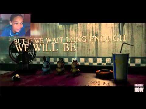 NIGHTMARE FNAF 3 SONG REACTION | JUST SLEEP JUST DREAM