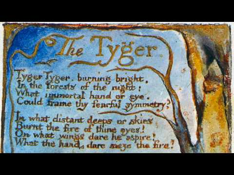 """The Tyger"" by William Blake (read by Tom O'Bedlam)"