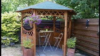 Garden Gazebos | Garden Gazebos in Wood