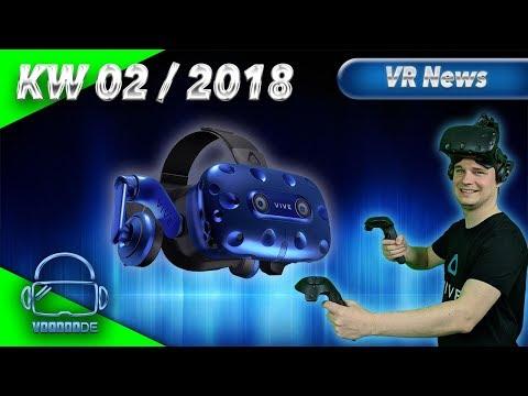 Virtual Reality News (Wochenrückblick KW02/18) [VR Games][VR Hardware][Vive Pro][Rift][Pimax][WMR]