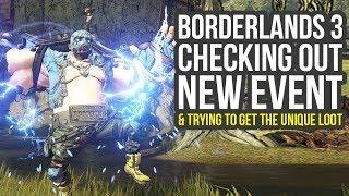 Borderlands 3 DLC - Checking Out New Event & Farming The Unique Legendaries (BL3 Legendary Farm)