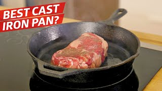 Is this $200 Cast Iron Pan Better than the Lodge? - The Kitchen Gadget Test Show