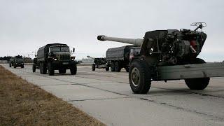 Под Новосибирском прошла тренировка военной техники к Параду Победы