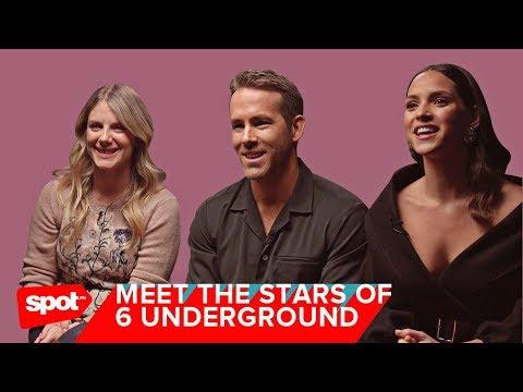 Ryan Reynolds On Michael Bay's Netflix Film, 6 Underground
