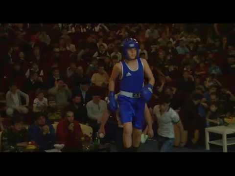 Вечер бокса в г.Шали за чемпионский пояс 05,05,2017