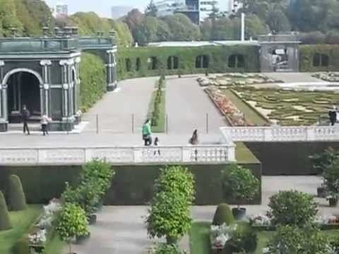Vacances en Autriche vu du Châteaux Schonbrunn.