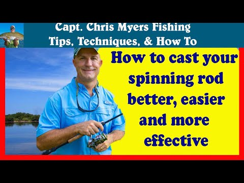 Spinning Reel Casting Tips - Using Correct Hand