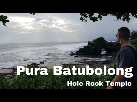 Pura Batu bolong Temple Bali   Bali Pura Batu Bolong Temple   Pura Batu Bali Rock with hole temple