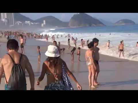 COPACABANA BEACH, BEACHES IN BRAZIL, RIO DE JANEIRO, IPANEMA BEACH